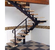 Изготовление и монтаж лестниц из дерева, бетона, камня, металла - Лестницы в Феодосии