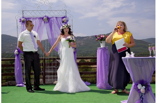 💜 ВЕДУЩАЯ МЕРОПРИЯТИЙ 💜  Провожу: Свадьбы, Юбилеи, Корпоративы 🎉🎉🎉 ЖМИ! 🌟 - Свадьбы, торжества в Форосе