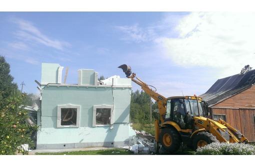 Демонтаж, зданий, строений, сараев, Вывоз строительного мусора., фото — «Реклама Севастополя»