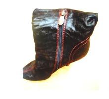 Продам полусапожки элегантные натуральные кожаные - Женская обувь в Севастополе