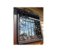 Решетки на окна и двери любой сложности - Металлические конструкции в Феодосии