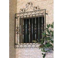 Изготовление и установка решеток на окна и двери, навесов, козырьков, ограждений - Металлические конструкции в Феодосии