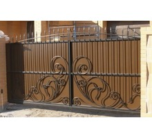 Изготовление и установка кованых и простых ворот, навесов, заборов - Заборы, ворота в Феодосии