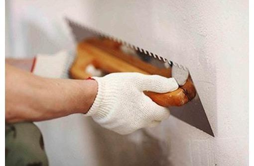 Отделка стен и потолка. Малярные, штукатурные, гипсокартонные работы, фото — «Реклама Евпатории»