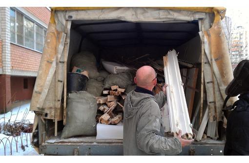 Вывоз мусора, погрузка строительного мусора услуги грузчиков. - Грузовые перевозки в Севастополе