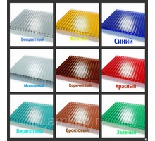 Поликарбонат прозрачный и цветной - Кровельные материалы в Керчи