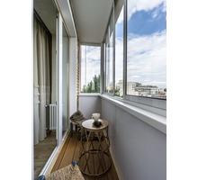 Балконы под ключ. Расширение, обшивка, утепление, установка дверей и окон - Балконы и лоджии в Евпатории
