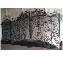 Изготовление и установка ворот, металлических дверей, заборов, навесов - Заборы, ворота в Евпатории