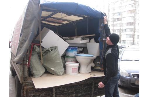 Вывоз мусора, погрузка строительного мусора услуги грузчиков. - Вывоз мусора в Севастополе