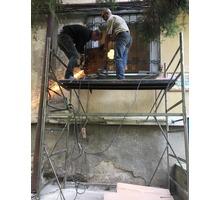Изготовление и установка решёток - Металлические конструкции в Симферополе