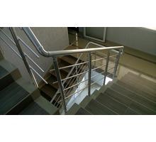 Алюминиевые перила с установкой - Лестницы в Симферополе
