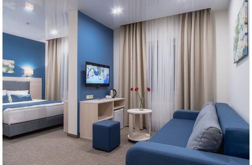 Шторы для гостиниц и отелей, фото — «Реклама Севастополя»