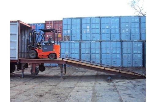 Услуги по обработке и доставке контейнеров и генеральных грузов, фото — «Реклама Севастополя»