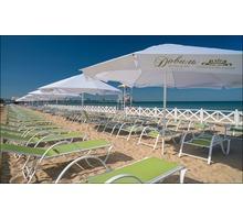 Зонт 4 м. диаметром алюминиевый блочного сложения - Оборудование для HoReCa в Евпатории