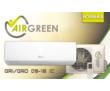 Кондиционер AirGreen (завод gree) GRI/GRO-09 HG 1 ON/FF и инвертор, фото — «Реклама Севастополя»