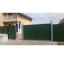 Откатные распашные ворота.(Металлоконструкции) - Заборы, ворота в Севастополе