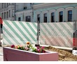 Временное ограждение, баннерная фотосетка, фото — «Реклама Севастополя»