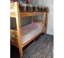 Кровать двухъярусная с матрасами б\у - Мебель для спальни в Бахчисарае