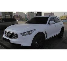 Аренда Infiniti FX 35 c водителем - Прокат легковых авто в Севастополе
