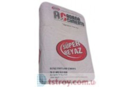 Белый цемент  производство Турция - Цемент и сухие смеси в Севастополе