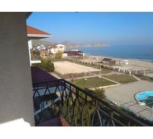 Апартамент 143 кв.м.  на 1-ой линии от моря - Коттеджи в Крыму