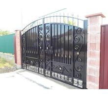 Распашные металлические ворота  Джанкой изготовление. - Заборы, ворота в Джанкое