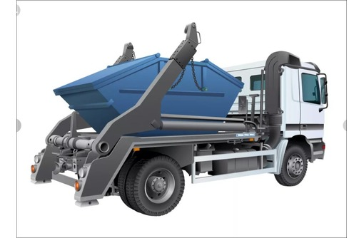 Погрузка и вывоз строительного мусора, фото — «Реклама Фороса»