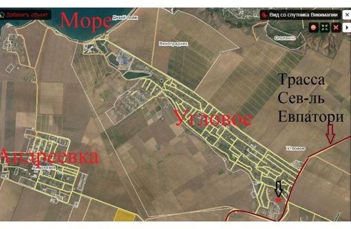 Продам 30 гектар земли в с. Угловое Бахчисарайского района У моря, фото — «Реклама Бахчисарая»