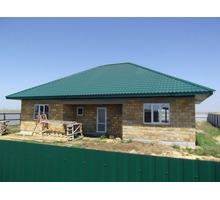 Новый дом без отделки в приморском селе Штормовое - Дома в Евпатории