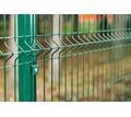 3d забор секционный Стандарт 2,5х2 м,4 мм толщ, 200х50 мм ячейка (зеленый) - Заборы, ворота в Крыму