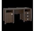 Распродажа офисной мебели на фабрике Компасс-Стиль, в Севастополе. Стол Изабель ИЗ-18 орех темный. - Мебель для офиса в Севастополе