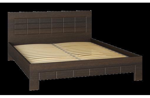 Кровать Изабель ИЗ-323K (2000x1600) орех темный. Распродажа на мебельной фабрике Компасс - Мебель для спальни в Севастополе