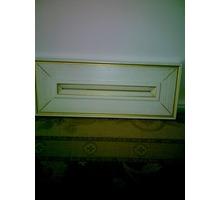 фасады кухни из массива ясеня белый лак с золотой патокой в упаковке - Мебель для кухни в Севастополе