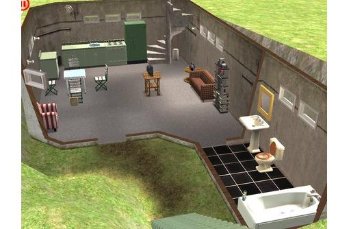 Строительство частного бункера. Стены от одного метра - Строительные работы в Севастополе