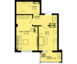 Отличная однокомнатная квартира 35.4м2 за 2 900 000руб., фото — «Реклама Фороса»