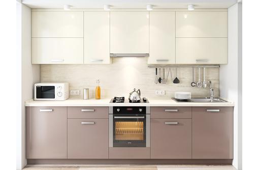 Кухня по индивидуальным размерам. Фасад МДФ пленочный, глянец. Мебель- фабрика Компасс-Стиль - Мебель для кухни в Севастополе
