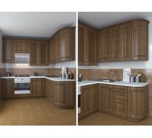 Кухни на заказ. от 20 000 ₽ пог.м  Фасад МДФ пленочный, Текстура- белое дерево - Мебель для кухни в Севастополе