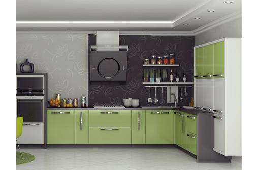 Качественная кухня на заказ от производителя мебели в Севастополе. Фасад МДФ пленочный, Глянец - Мебель для кухни в Севастополе