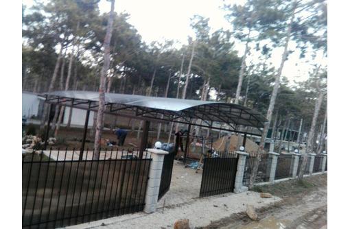 Автоматические ворота скрытый каркас - Заборы, ворота в Севастополе