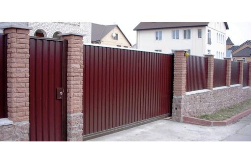 Ворота откатные распашные Металлоизделия, фото — «Реклама Севастополя»