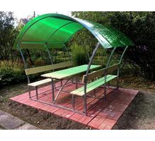 Беседки с лавочками и столиком - Садовая мебель и декор в Бахчисарае