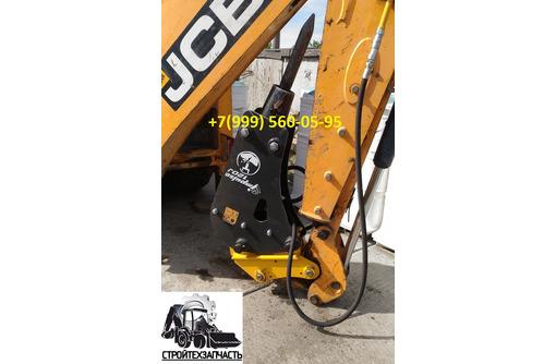 Быстросъем квик-каплер на экскаватор-погрузчик Jcb 3cx, Cat428, Komatsu wb97, John Deere 315k 325j - Продажа в Севастополе