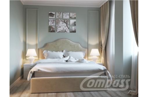 Купить спальный гарнитур 8. Кровать с подъемным механизмом, Тумба прикроватная, Шкаф-купе - Мебель для спальни в Севастополе