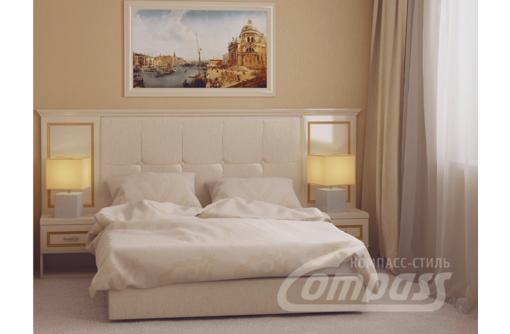Спальные гарнитуры Севастополь, 7. Кровать, Панель к кровати, Стол туалетный, Шкаф-купе, зеркало, фото — «Реклама Севастополя»