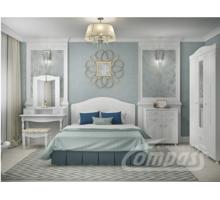 Спальня гарнитур 5. Кровать с подъемным механизмом, Тумба комбинированная, Стол, Полка с зеркалом, - Мебель для спальни в Севастополе