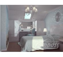 Спальный гарнитур. Шкаф комбинированный с выдвижными ящиками, Кровать, Тумба, Зеркало, Шкаф платяной - Мебель для спальни в Севастополе