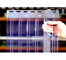 ПВХ завесы жалюзи на склад камеру дверной проем. Пленка пвх морозостойкая - Оборудование для HoReCa в Симферополе