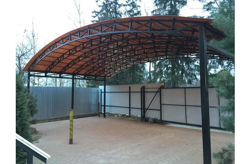 Навесы поликарбонат,ворота откатные металлоконструкции от производителя - Металлические конструкции в Севастополе