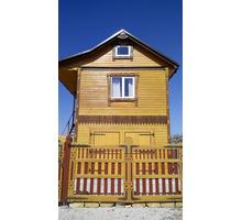 Продаю деревянный каркасный дом с эксклюзивной домовой резьбой. - Дома в Евпатории