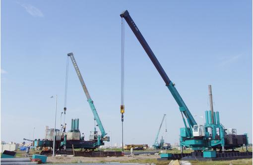 Сваевдавливающапя установка Санворд 260, 360 - Грузовые автомобили в Черноморском